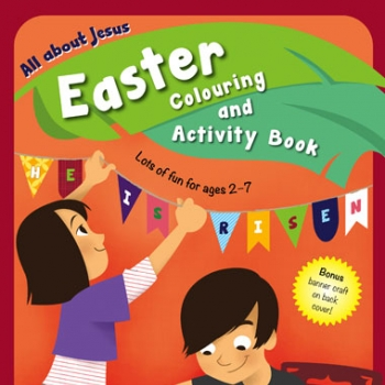 All About Jesus Easter Colouring Book image