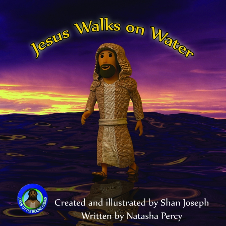 Jesus Walks on Water image