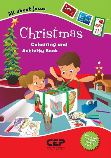 Christmas Colouring & Activity Book image