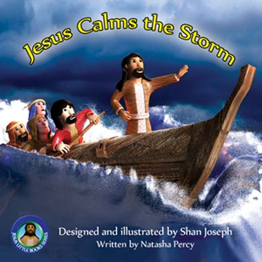 Jesus Calms the Storm image