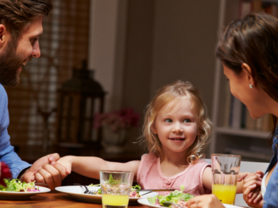 Drawing Closer Together As A Family At Mealtimes image