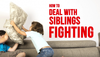 Read How to deal with siblings fighting