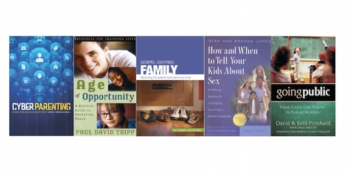 My top five Christian parenting books image